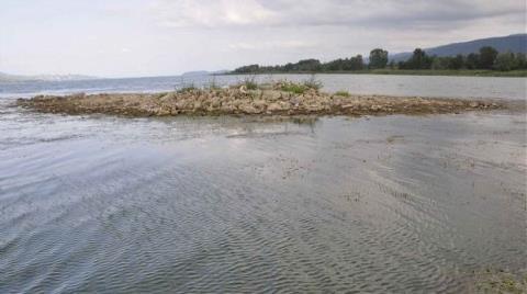 Sapanca Gölü'nde Defineci Talanı