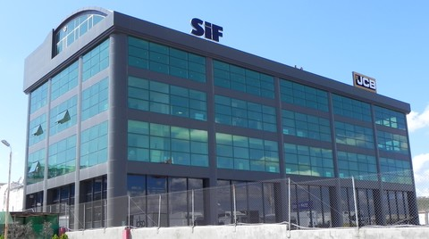 SİF İş Makinaları Yeni Genel Müdürlük Binasında