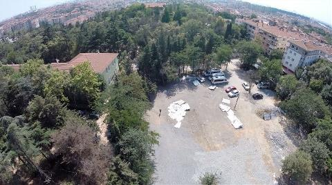 Validebağ Korusu'ndaki Talan Havadan Görüntülendi