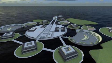 """Mimarlardan Urla'ya """"Yüzen Şehir"""" Projesi!"""