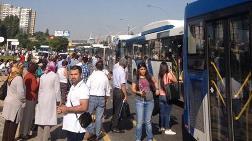 Ankara Ümitköy'de Metro Protestosu