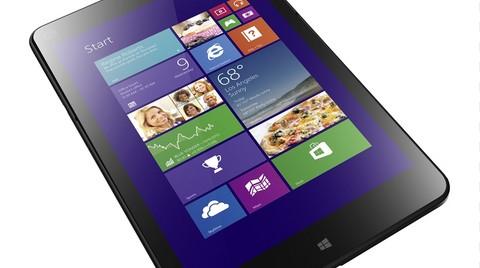 Lenovo ThinkPad Tablet 8 Emlakçıların Yüzünü Güldürecek