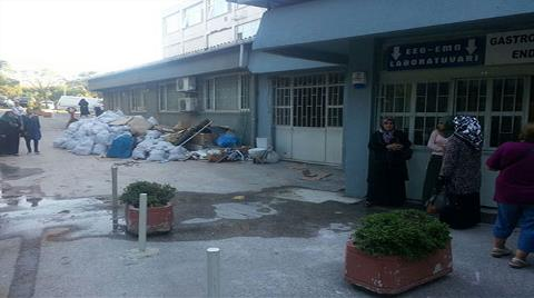 Haydarpaşa Numune Hastanesi Bakımsızlıktan Dökülüyor