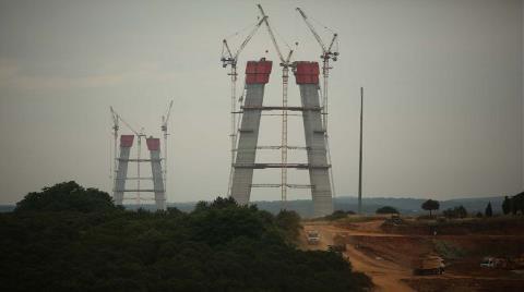 3. Köprü için 2.5 Milyon Metreküp Beton Dökülecek!