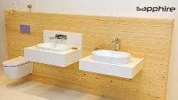 Özgün Lavabo ve Duş Tekneleri için SEREL Rita ve Sapphire
