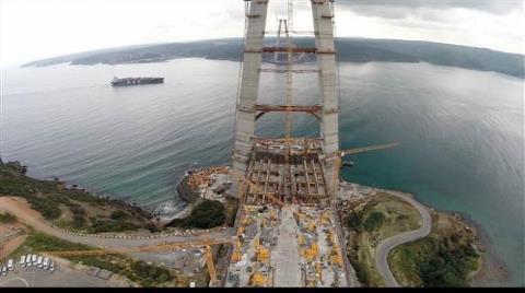 Üçüncü Köprünün Kulelerinde Sona Gelindi