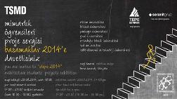 """TSMD Mimarlık Öğrencileri Proje Sergisi: """"Basamaklar 2014"""""""