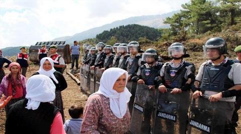 Burdur'da Köylüler Ormanları için Ayaklandı