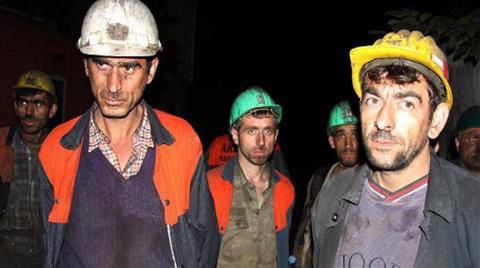 Zonguldak'ta Madencilere İş Çıkışı 'İşsizlik' Şoku