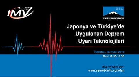 Japonya ve Türkiye'de Uygulanan Deprem Uyarı Teknolojileri
