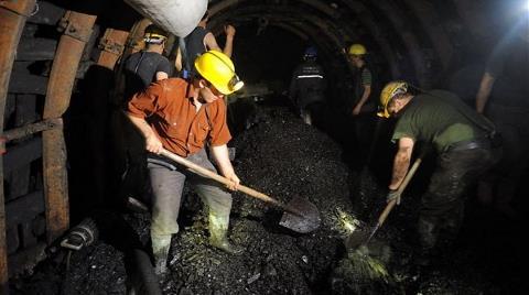 İşten Çıkarılan Madenciler Eylem Yaptı