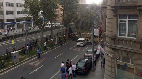 """Şantiyeye Dönen İstanbul'da """"Açık İnşaat"""" Tehlikesi!"""