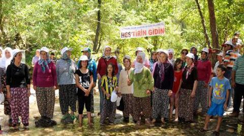 Ahmetler Kanyonu'nda HES Durduruldu