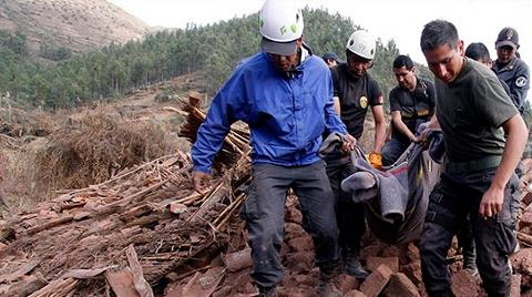Peru, 4.9'luk Depremle Yıkıldı