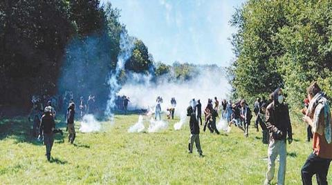 Fransa'da Orman Direnişi!