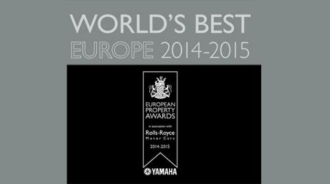 2014 Avrupa Gayrimenkul Ödülleri'nde Türkiye Önderliği