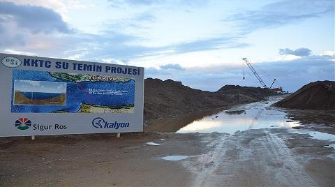 KKTC İçme Suyu Boru Hattı'na Denizaltı Uyarı Sistemi!