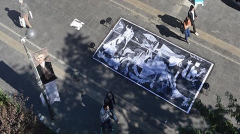 Mimarlar Sokağa Guernica Çizdi!