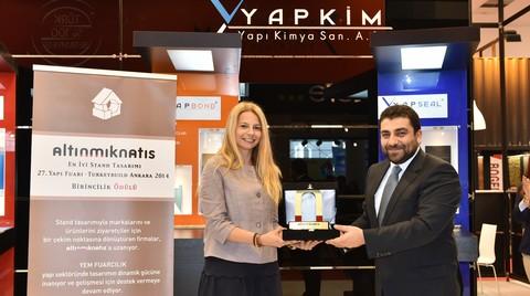 27. Yapı Fuarı – Turkeybuild Ankara'nın En İyi Standları Ödüllerini Aldı