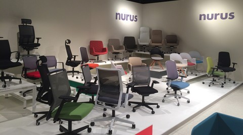 Nurus Yeni ve Yenilenen Tasarımları ile Orgatec 2014 Fuarı'ndaydı