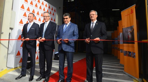 Sika Türkiye'nin İkinci Fabrika Yatırımı Mersin Tarsus'a