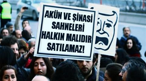 Ankara'nın Tiyatro Sahneleri Gizlice Satıldı