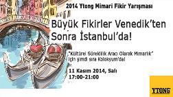 2014 YTONG Mimari Fikir Yarışması Kolokyumu
