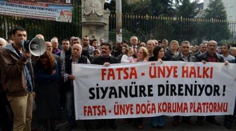 İstiklal'de Siyanürlü Altın Arama Protestosu