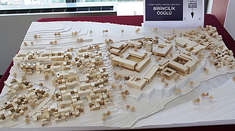 Güneydoğu Anadolu Bölge birincisi olarak seçilen projenin maketi