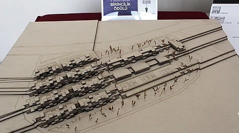 İç Anadolu Bölge birincisi olarak seçilen projenin maketi