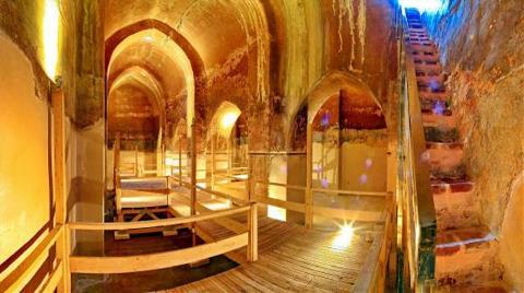 800 Yıllık Sarnıçlar Turizme Açılıyor