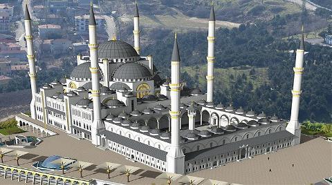 Çamlıca Camisi'ne Özel Tünel Projesi