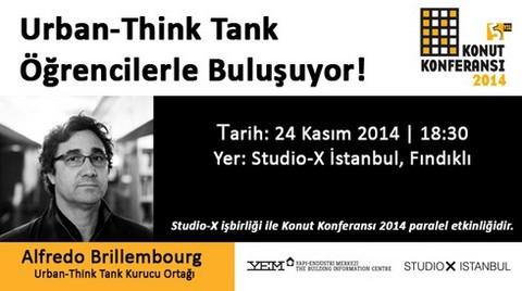 Urban-Think Tank Öğrencilerle Buluşuyor!