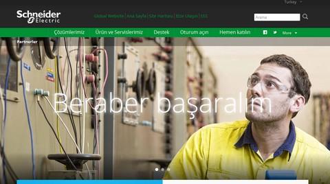 Schneider Electric'ten 'Yeni İş Ortağı Portalı'