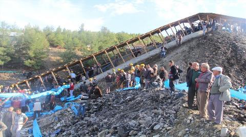Ermenek'te İşçiler 15 Saat Kurtarılmayı Bekledi