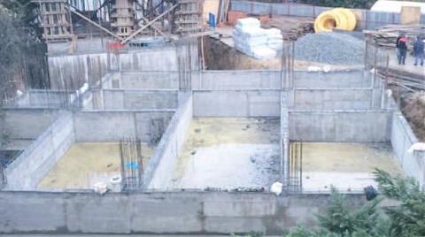 Validebağ'da Cami İnşaatı Yükseliyor