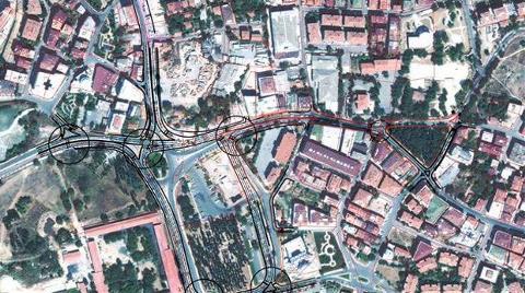 Halkalı Meydanı ve Çevresinde Trafik Düzenleme Çalışması