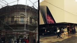 Fransa'dan Mail Attı, Narmanlı Han'daki Reklam Kalktı