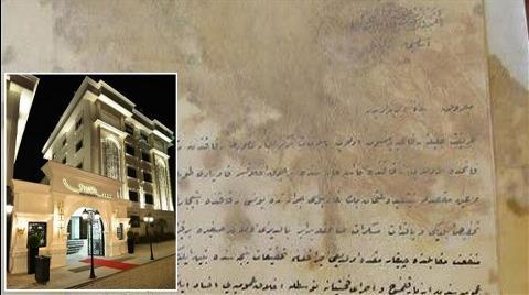 Osmanlı Arşivleri Binası Otel Oldu, Yeni Bina Dere Yatağına Yapıldı