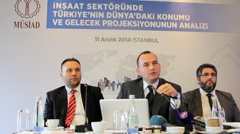MÜSİAD'a Göre de Konutta Türkiye'de Balon Olmaz