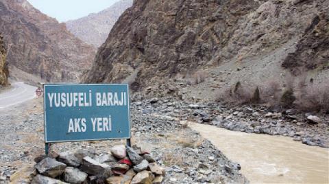 Yusufeli Barajı'nın İnşaatı Devam Ediyor