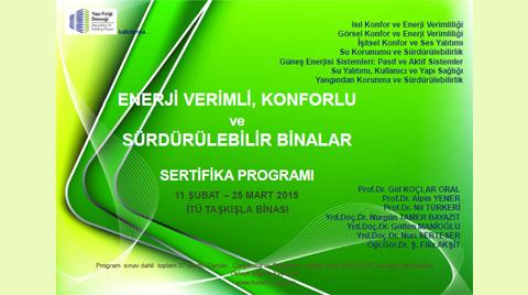 Konforlu, Enerji Verimli ve Sürdürülebilir Binalar Sertifika Programı