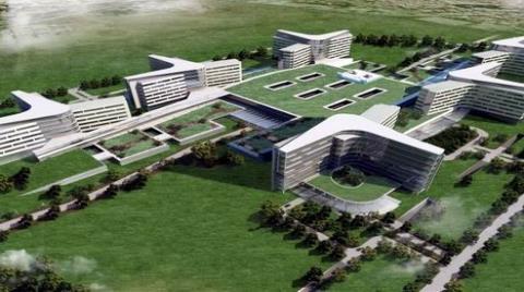 Şehir Hastanesi İhalesine 4 Firmadan Teklif