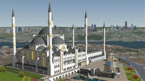 Çamlıca Camisi'ne 10 Milyon Liralık Bağış