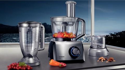 Siemens'ten Çok Marifetli Mutfak Robotu
