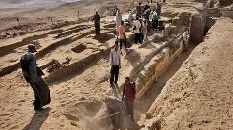 Mısır'da Kraliçe 'Khentkaus'un Mezarı Bulundu
