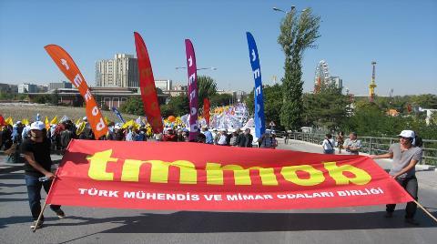 TMMOB Torba Yasa'ya Karşı Eylem Yapacak