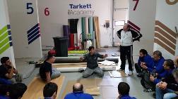 Tarkett Aspen'den Sırbistan'da Uygulamacı Eğitimi