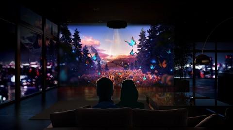 Sony'den Yeni Bir Ev Sineması Deneyimi için Yepyeni Projektörler