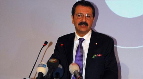 Hisarcıklıoğlu: Sanayide 2. Lige Düştük